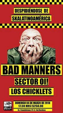 Bad Manners Tickets, Tour Dates 2018 & Concerts – Songkick