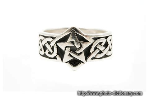 celtic ring - photo/picture definition at Photo Dictionary