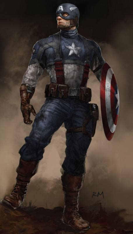 Captain America Concept Art Takes Us Closer To The First
