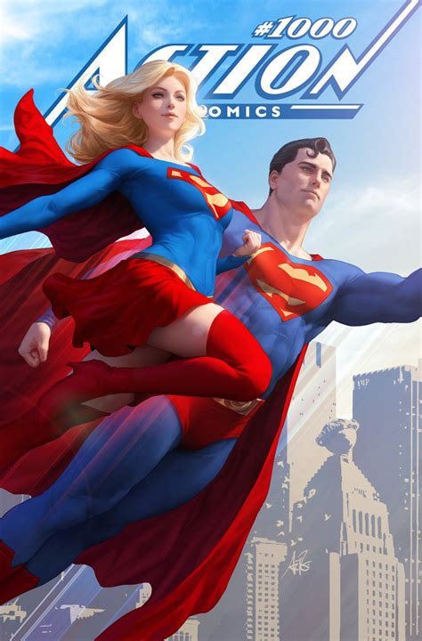 More Action Comics #1000 Covers From Stanley 'Artgerm' Lau