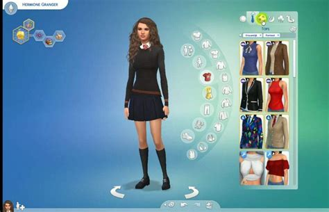 I made Hermione Granger in the Sims 4📚   Harry Potter Amino
