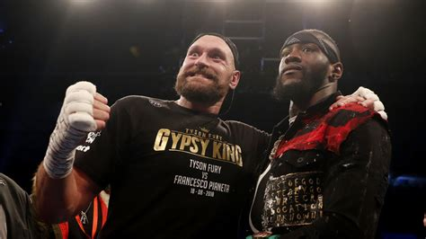'Deontay Wilder is in a league of his own': Wilder and