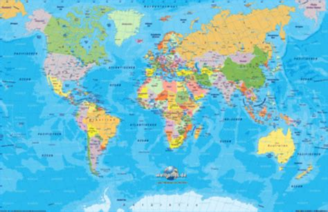 Map of Asia, map of the world physical - Map in the Atlas