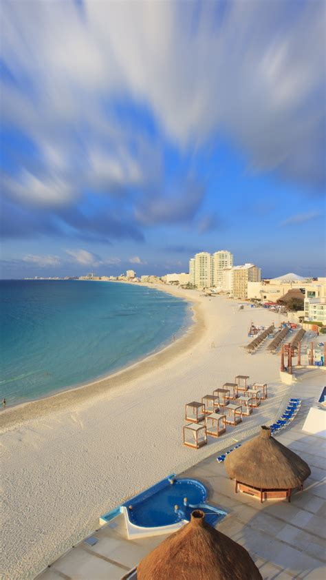 Wallpaper Cancun, Mexico, Best beaches of 2017, tourism
