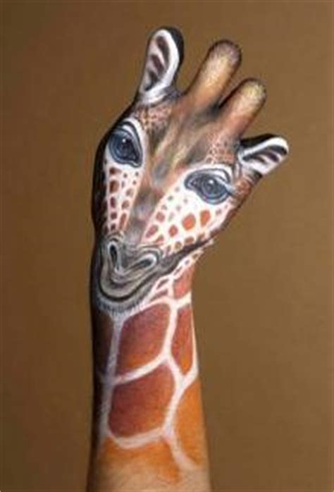 Bodypainting Tiere Hand 2