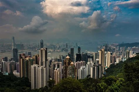 Skyline Views from The Peak, Hong Kong - Travel Past 50