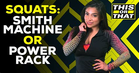 This Or That: Should You Do Squats On Smith Machine Or