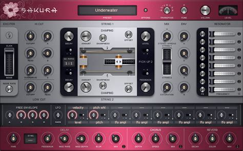 KVR: Sakura by Image Line - PM String Synth VST Plugin and