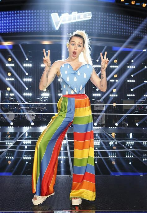 Miley Cyrus's 11 Most Cray Outfits on The Voice - Today's