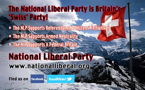 The National Liberal Party Is Britain's 'Swiss' Party