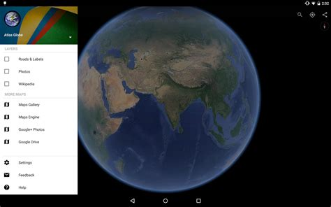 Google Earth für Android - Download