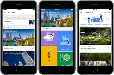 Google launches a new 'Trip' application for travelers