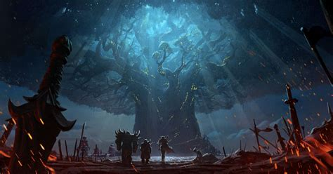 World of Warcraft's burning of Teldrassil cinematic is a