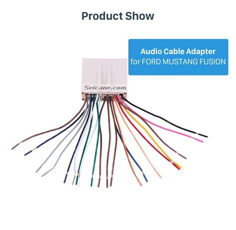 Auto Car Stereo Wiring Harness Plug Adapter Audio Cable